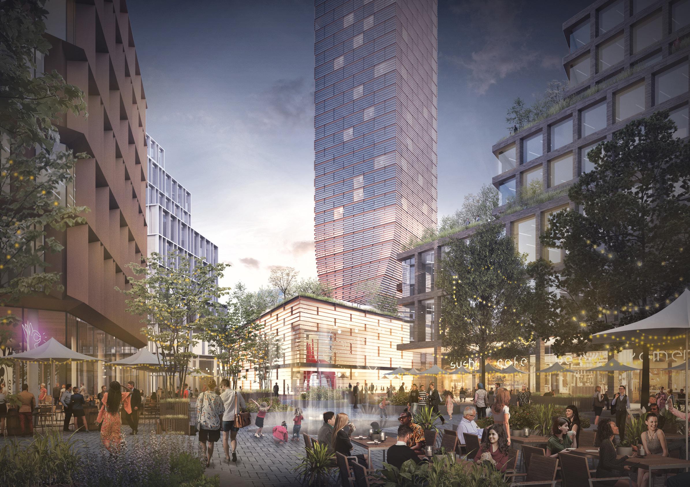 Vad händer i Flemingsberg - bostadsprojekt, utveckling, lokaler, sport, kultur